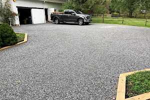 CORE Gravel system gives a new life to your parking surface