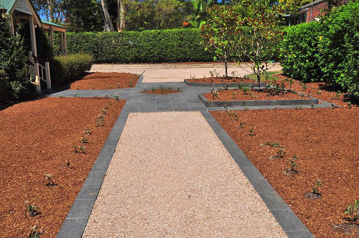 How to make a garden path with gravel - Core Path Allows For Flexibility In All Your Landscaping Designs Helping To Protect Garden Areas