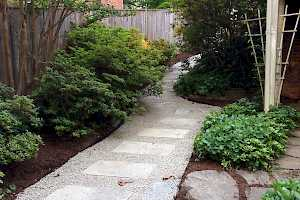 Enhance your garden areas with CORE Path. It's weed free and porous.
