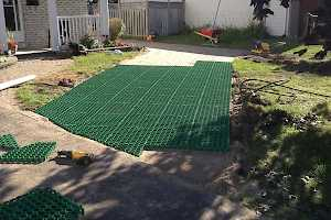 CORE Grass installation allows for flexibility within your landscaping plans.