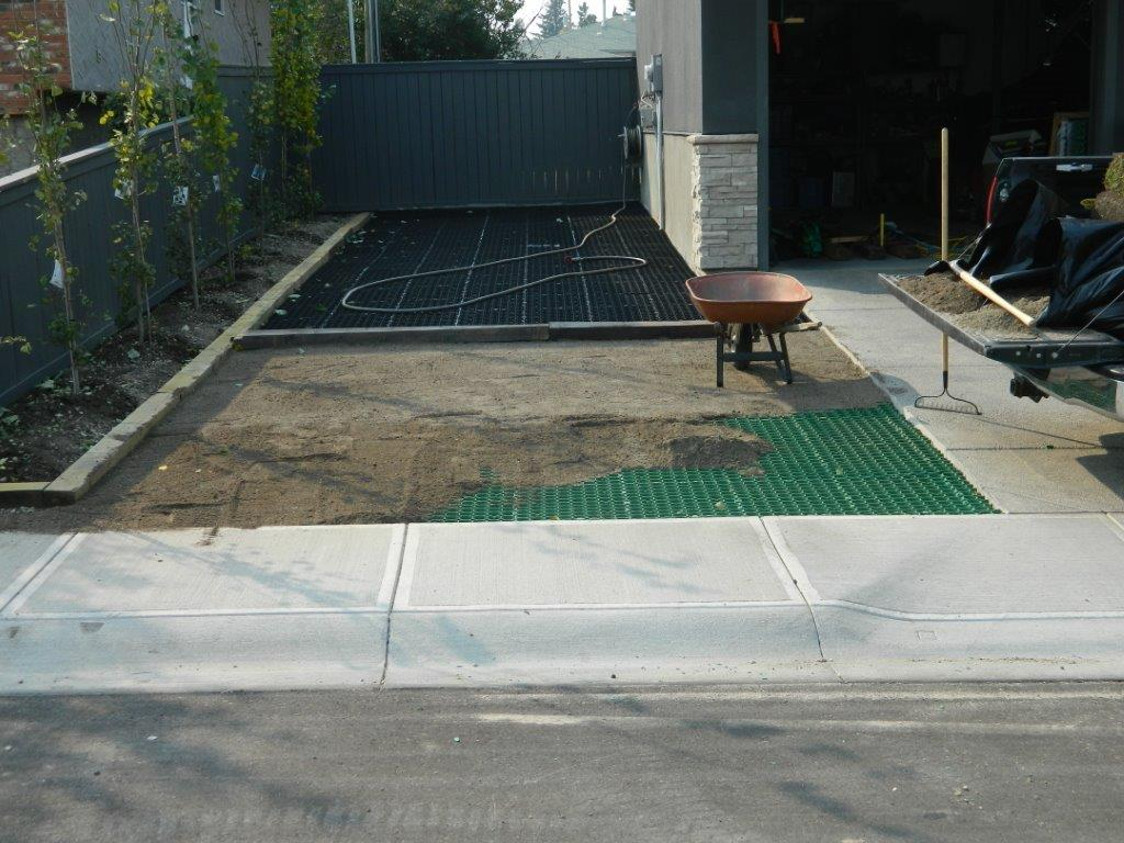 Grass Surfaced Permeable Parking Foundation Systems – CORE