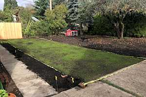 CORE Grass DIY parking pad for homeowners