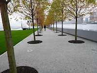 Four Freedoms Park (New York) – unique resin bound gravel surface now installed!