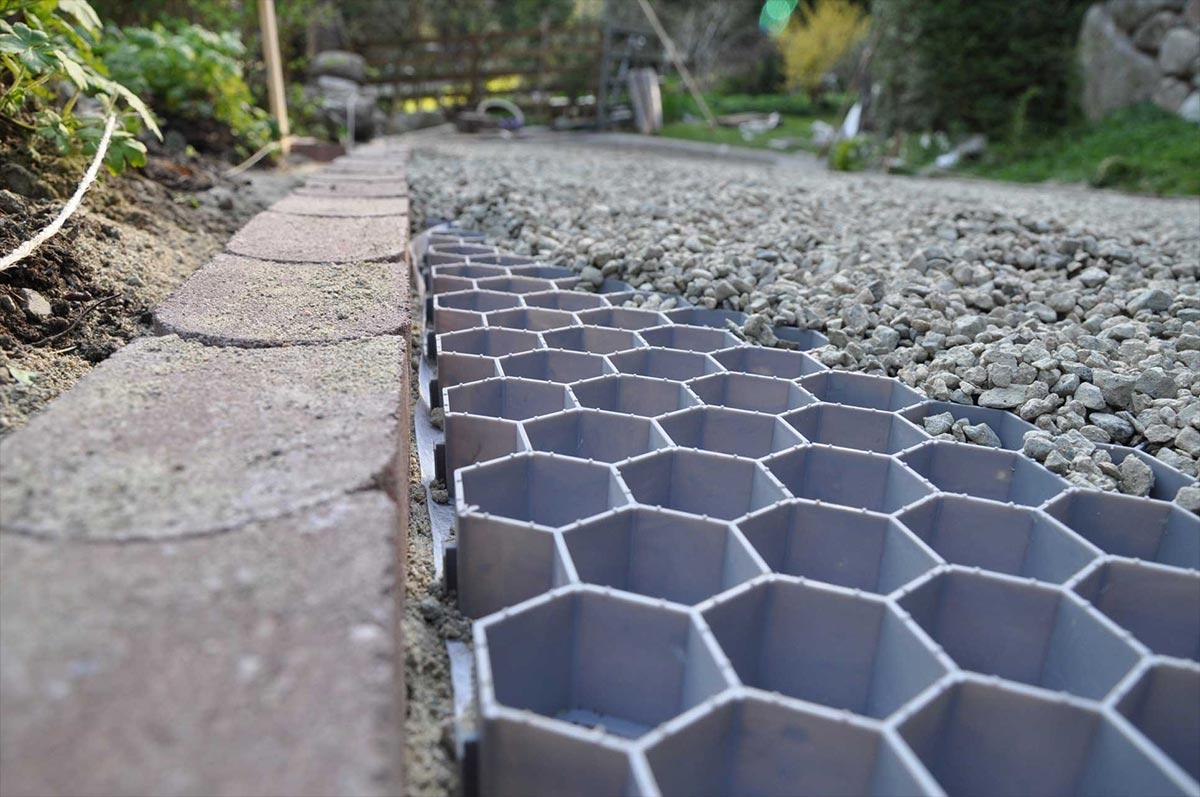 Eco living magazine core systems for Sloped driveway options