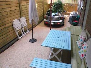 Montreal side yard – completed with CORE gravel 38-25R