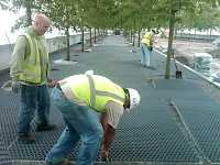 CORE Gravel Installation in FDR Four Freedoms Park