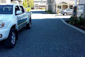 CORE driveway installation in a Habitat for Humanity installation in Courtenay, BC