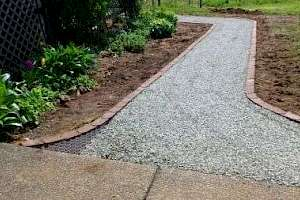 CORE path installation at Beaufort Winery