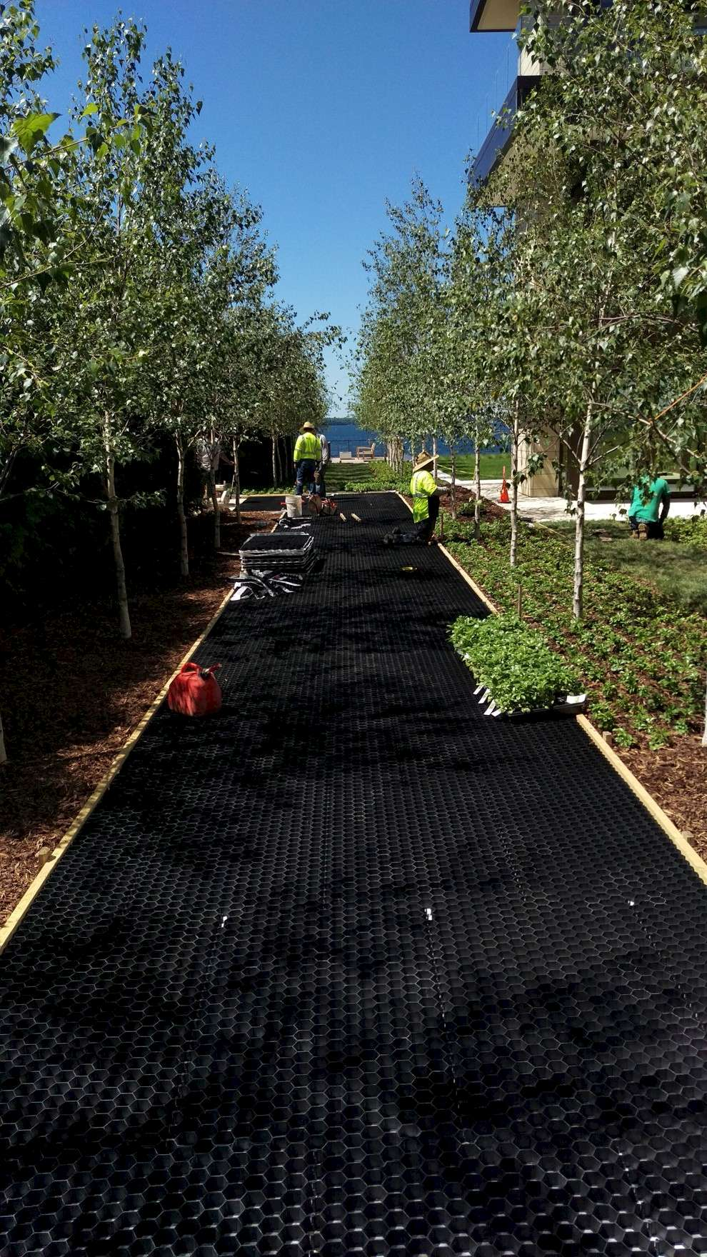 Core landscape photo gallery stabilized gravel foundations - Core landscape products ...