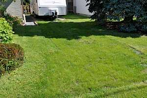 A CORE Grass installation creates year-round access for campers, fifth wheels or trailers.
