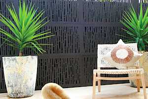 Outdeco Privacy Screen - Bungalow design
