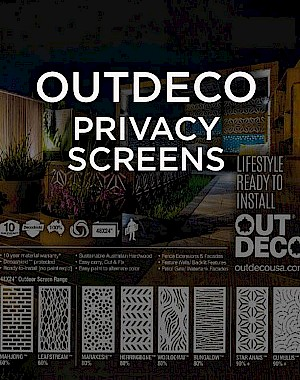 Outdeco Privacy Screens Brochure