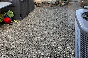 CORE Landscape gravel foundations is ideal for areas around your home that has limited sunlight, making it both functional and attractive.